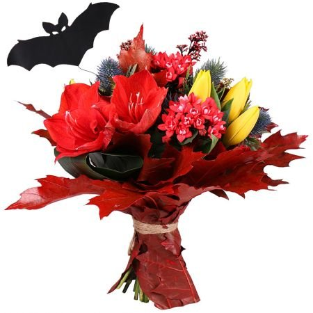 Original autumn bouquet ''Fortune-Teller'' with delivery