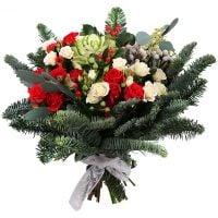 Order bouquet «Bright Christmas» in our online shop