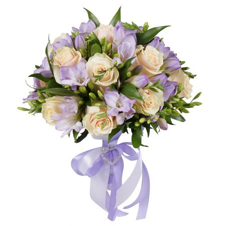 Buy beautiful bridal bouquet �Forget-Me-Not� with delivery