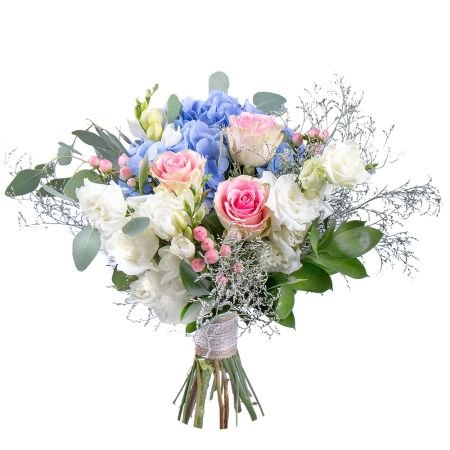 Order gorgeous bouquet «Aquamarine dreams» in the internet-shop with delivery