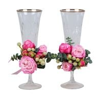 Product Flower decoration of glasses �6