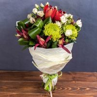 Order the bouquet «Autumn chick» in our online shop. Delivery!