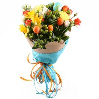 Bouquet «Easter rhapsody» | order ❀ easter flowers