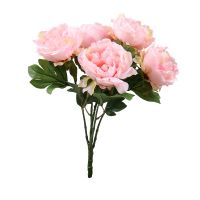 Artificial peony pink | order HQ flowers with delivery