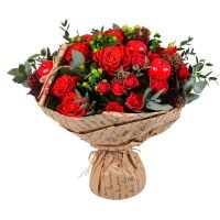 Order pretty flower bouquet «Love letter» with delivery