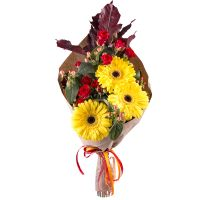 Order original bouquet �Autumn flame� in the online store with delivery