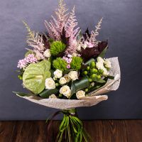 Order the bouquet «Orion's belt» in our online shop. Delivery!
