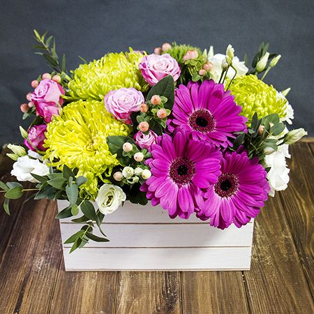 Order the bouquet «Touch of summer» in our online shop. Delivery!