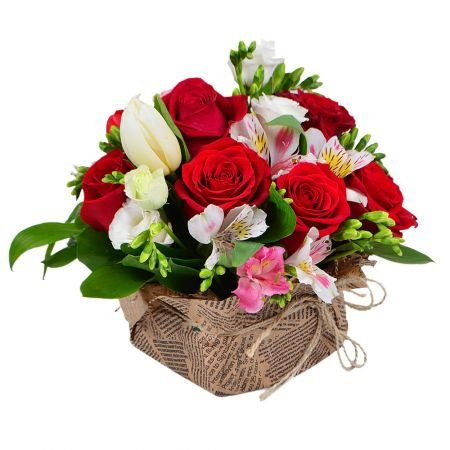 Order flower composition «Pleasant compliment» in our online shop