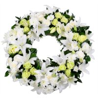 Bouquet Funeral Wreath 1