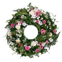Bouquet Funeral wreath of flowers