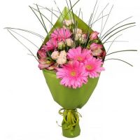 Bouquet Pink platter (wholesale)