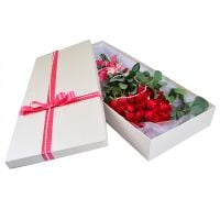 Bouquet Roses in a box