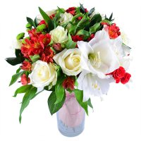 Bouquet «The Most beautiful» | order now on UFL