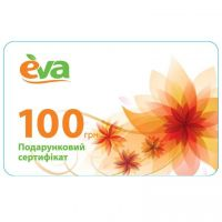 Product Eva certificate on 100 UAH