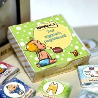 Order chocolate mini-set «For parents» in the internet-shop with delivery.