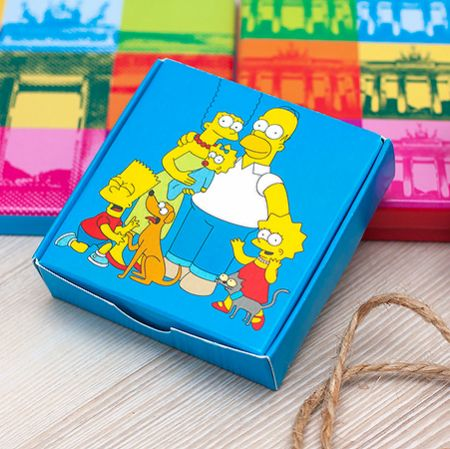 Order chocolate mini-set «Simpsons» in the internet-shop UFL. Quick delivery!