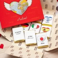 Chocolate set ''Love'' with delivery