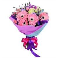 Order �Attractive� bouquet in tender tones with delivery