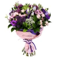 Buy marvelous bouquet �Purple Paradise� with delivery
