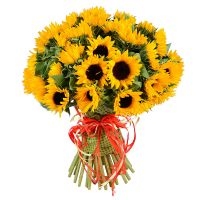 Original bouquet «Sunny» with delivery to any city