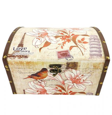 Order beautiful chest «Love story» with delivery to any city