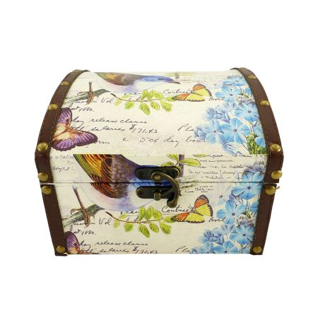 Buy a beautiful chest ''Birds'' large size with delivery to any destination