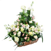 Bouquet Wedding basket