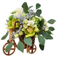Bouquet Wedding bicycle