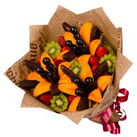 Fruit bouquet «Dance of lilies» | fast gift delivery on UFL