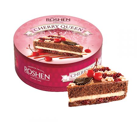 Order  Cake «Cherry Queen» in our online shop. Delivery!