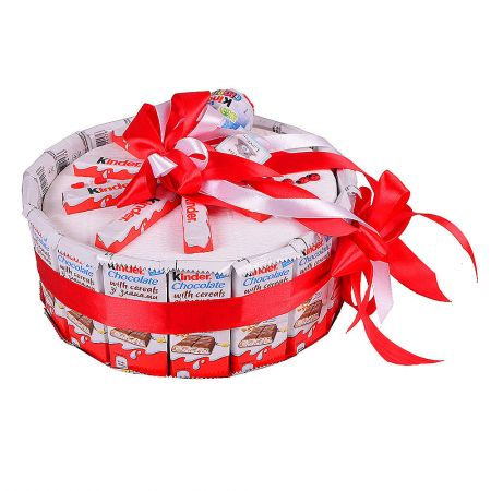 Buy unusual ''Cake Kinder (with cereals)'' with delivery in any city
