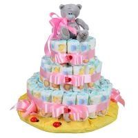 Order the diaper cake with delivery