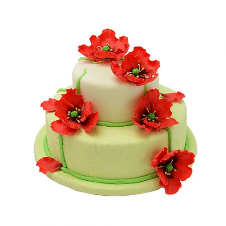 Product Cake to order - Poppies
