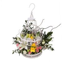 Bouquet Flower Cage