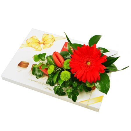 Order set «Flower De Luxe» in our online shop. Delivery!