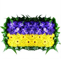 Bouquet Flag of Ukraine
