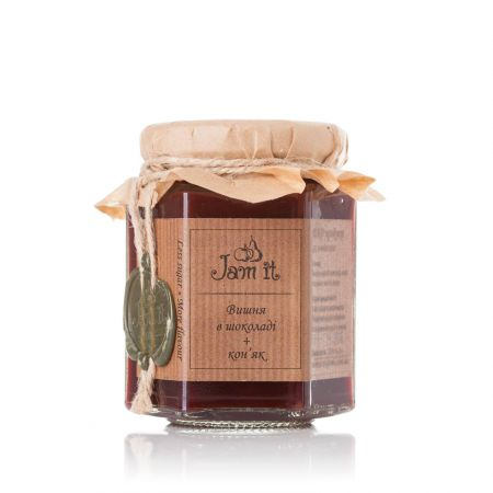 Product Jam cherry with chocolate and cognac