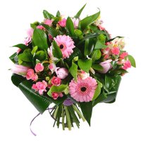 Boquet «Spring flowers» | refined bouquet with delivery