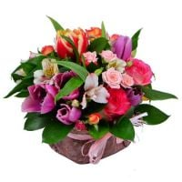 Flower bouquet «Spring mix» buy online