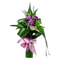 Buy a flower bouquet «Spring evening» with delivery