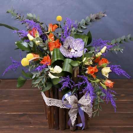 Order the bouquet «Maiden's puzzle» in our online shop. Delivery!