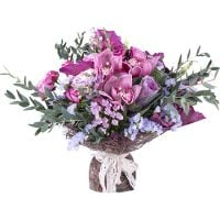 Order the bouquet «Enigmatic lady» in our online shop. Delivery!