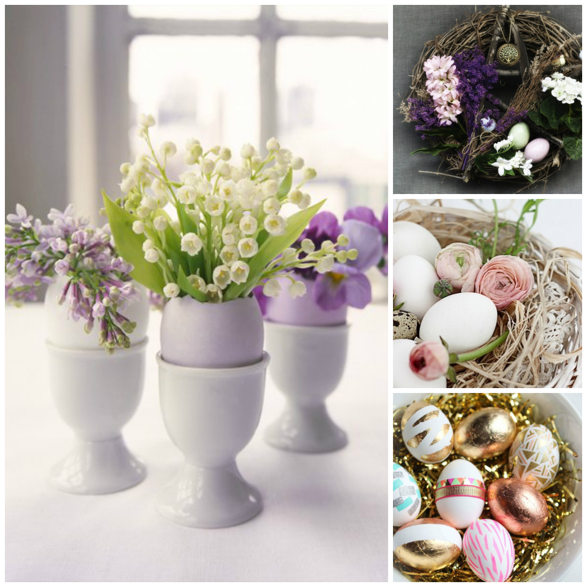 Rustic Mantel Décor That Will Adorn Your Bored To Death: Easter Home Decor: Original Ideas