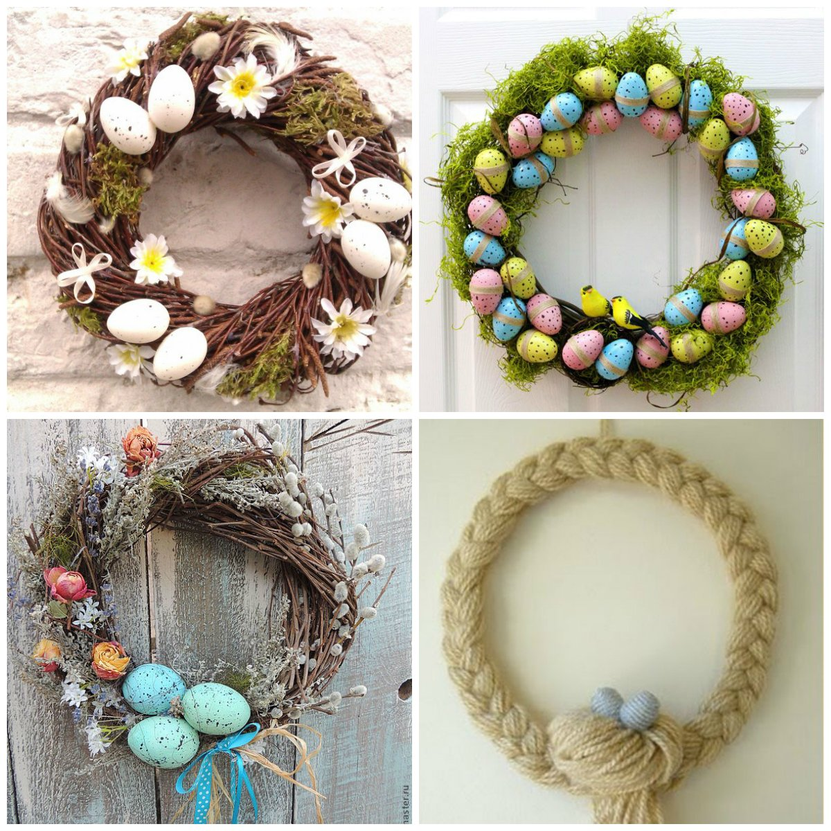 Easter home decor original ideas for How to make easter decorations for the home