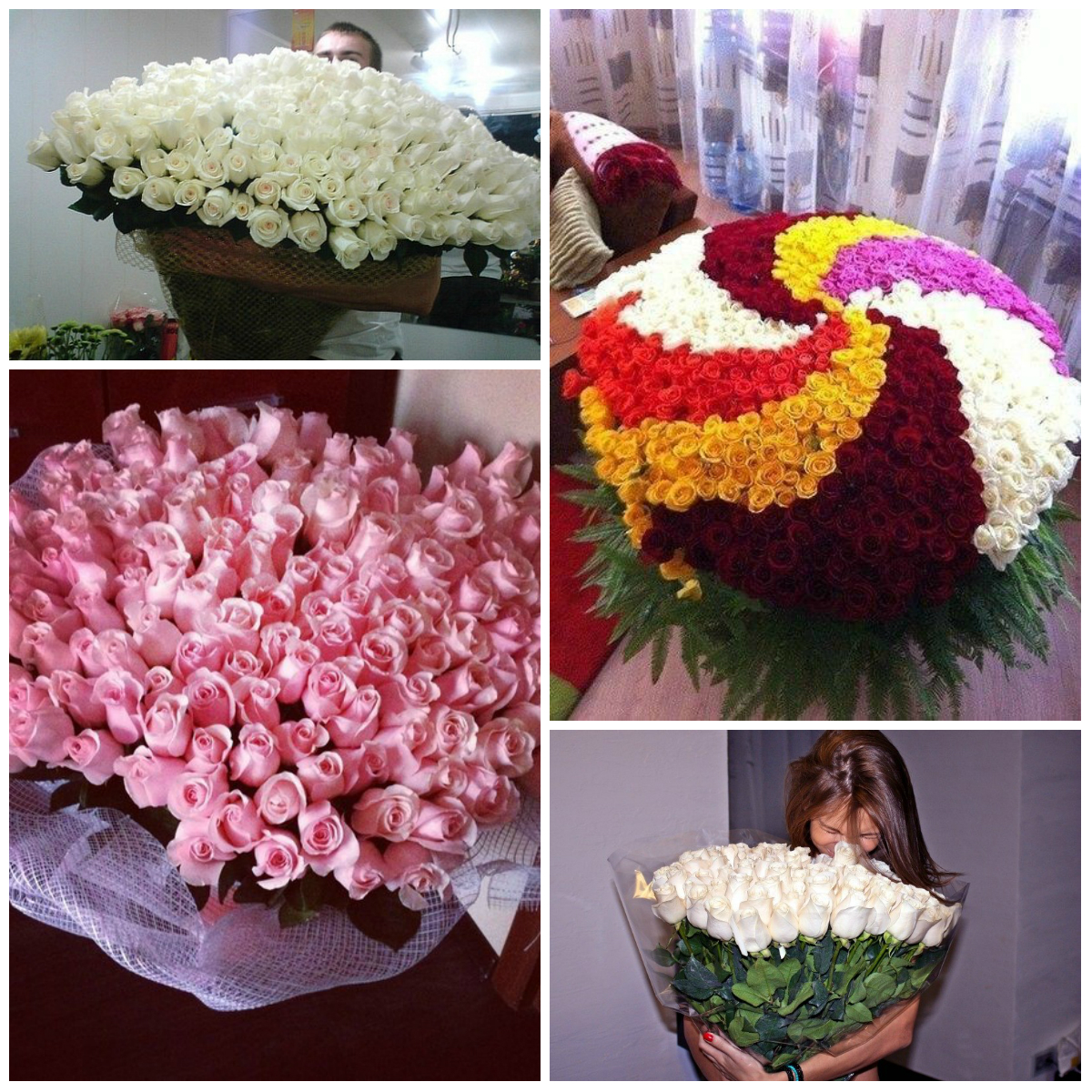 Huge bouquet of flowers