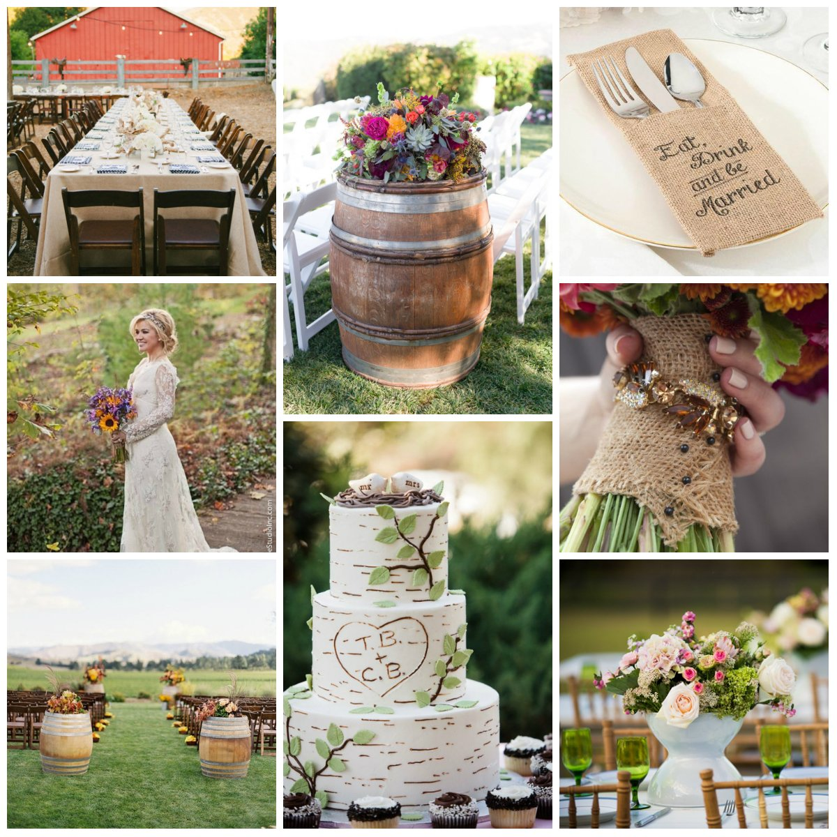 7 Barn Wedding Decoration Ideas For A Spring Wedding: A Few Ideas For Spring Wedding