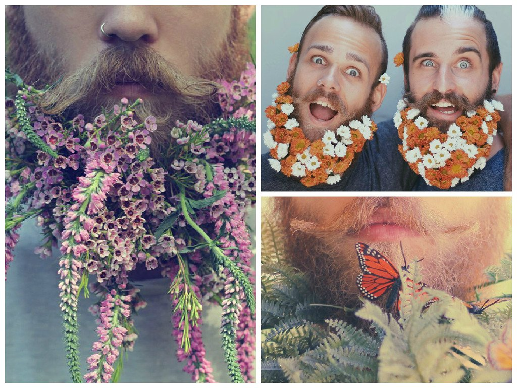 Floral beards